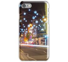 Christmas in Oxford Street iPhone Case/Skin