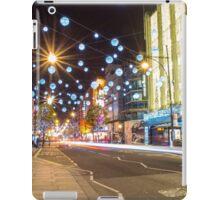 Christmas in Oxford Street iPad Case/Skin