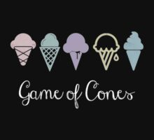 Game Of Cones Kids Tee