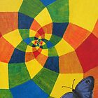 Spirals and Butterfly by Steven Frisby