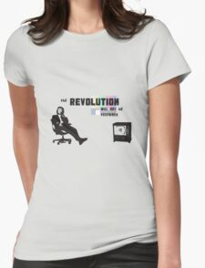 Car Crash TV Womens Fitted T-Shirt