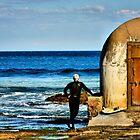 Observation - Newcastle Baths, NSW Australia by Bev Woodman