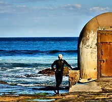 Observation - Newcastle Baths, NSW Australia by Bev Woodman