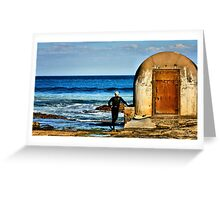 Observation - Newcastle Baths, NSW Australia Greeting Card
