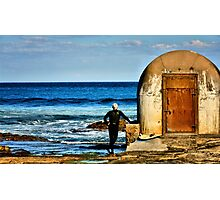 Observation - Newcastle Baths, NSW Australia Photographic Print