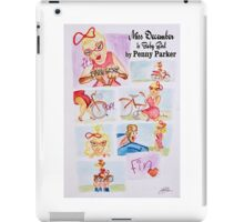 The Rouge Session - Baby Girl - Miss December iPad Case/Skin