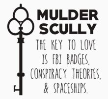 The Key to Love - Mulder & Scully by A-Starry-Night