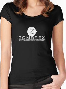Zombrex - Keeping Zombification at Bay Women's Fitted Scoop T-Shirt