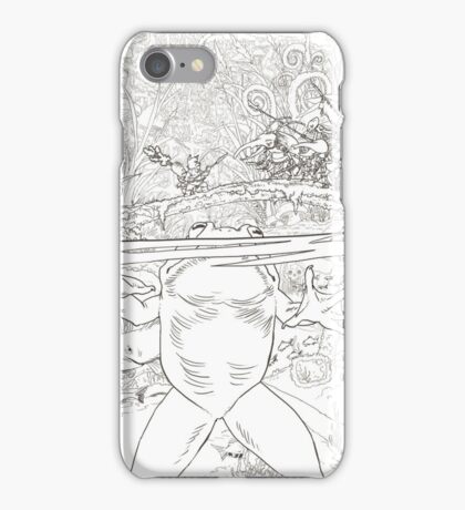 The dinner of the frog iPhone Case/Skin