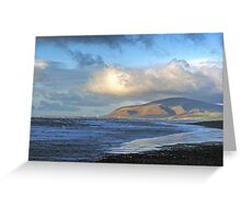 Walney to Black Combe Greeting Card