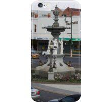 Bendigo Fountain, Bendigo, Bird's Eye View. iPhone Case/Skin