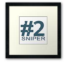 Sniper Number 2 Mug Framed Print