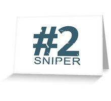 Sniper Number 2 Mug Greeting Card