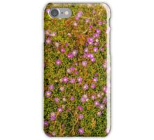 Round-leaved Pigface. iPhone Case/Skin