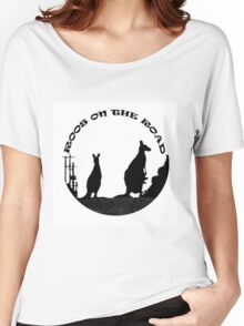 ROOS ON THE ROAD Women's Relaxed Fit T-Shirt