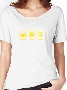 Knapsack, Helmet, Dungeon Women's Relaxed Fit T-Shirt