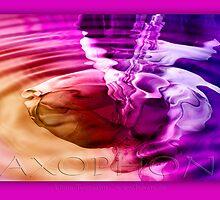 saxophone - purple by fuxart