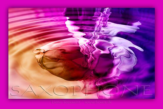 saxophone - purple by fuxart