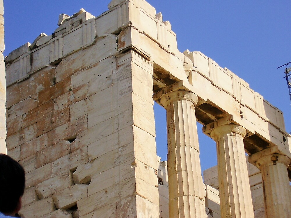Temple of Athena by Ann Palmieri