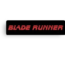 Blade Runner (Red) Canvas Print