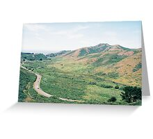 GGNRA, Hill 88, Marin Headlands, CA Greeting Card