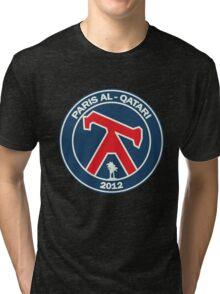 Paris Al-Qatari Football Club Tri-blend T-Shirt
