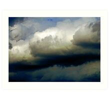 Storm Clouds Forming Art Print