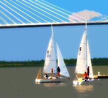 Sailing Team 2 by Wendy Mogul