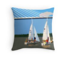 Sailing Team 2 Throw Pillow