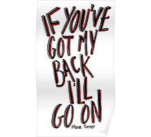 Frank Turner - If Ever I Stray Poster
