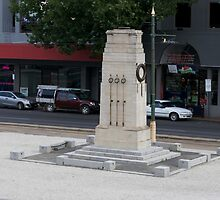 War Memorial - Bendigo Fountain Court. by djnatdog