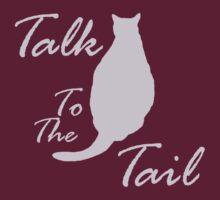 Talk To The Tail, dark shirts by Rebekah  McLeod