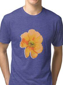 Orange Retro Tri-blend T-Shirt