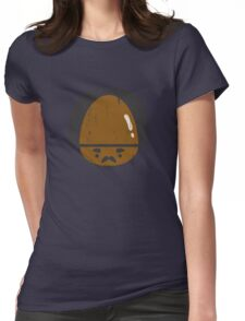 Gervinho's Big Shiny Forehead Womens Fitted T-Shirt