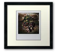 flowers for A. Framed Print