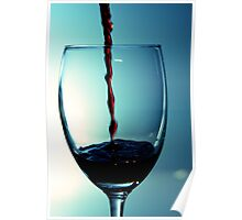 Quaffing Wine Poster