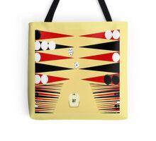 3D Backgammon Tote Bag