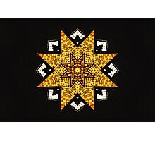 Aztec Gold Photographic Print