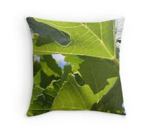 Day at the winery Throw Pillow