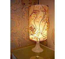 Handmade Paper Lamp  Photographic Print