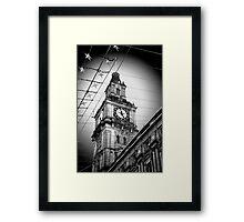 4.58pm Framed Print