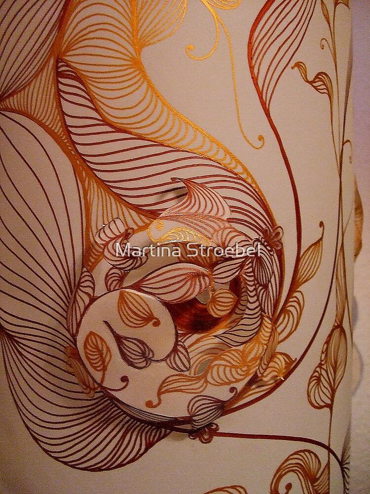 Handmade Paper Lamp ++ by Martina Stroebel