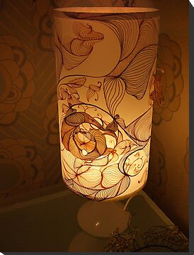 Handmade Paper Lamp +++