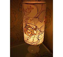 Handmade Paper Lamp +++ Photographic Print