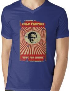 Pulp Faction - Jimmie Mens V-Neck T-Shirt
