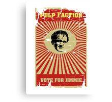 Pulp Faction - Jimmie Canvas Print