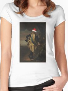 George Washington Charles Willson Peale  Women's Fitted Scoop T-Shirt
