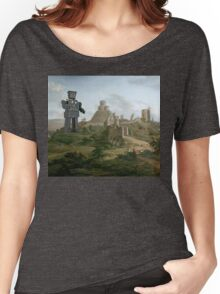 Enter the Droid. Women's Relaxed Fit T-Shirt