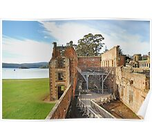 "The Penetentiary"" - Port Arthur Historic Site,Tasmania Austrralia Poster"