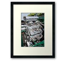 Blown V8 Framed Print